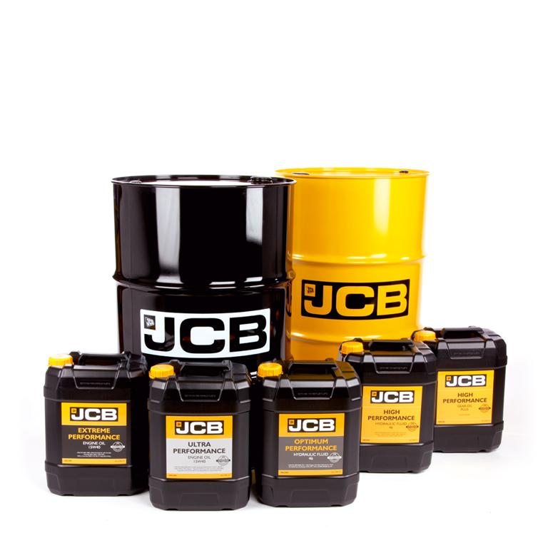 Робочі рідини JCB